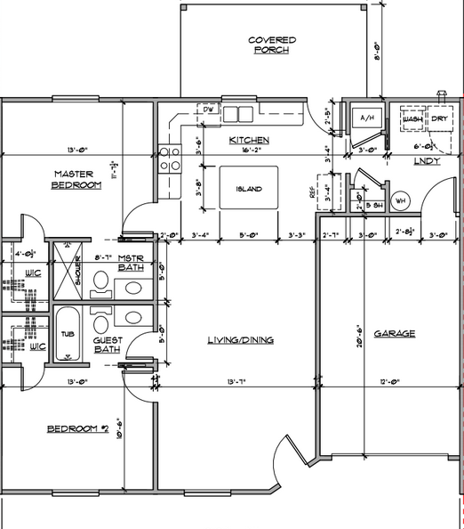 1210 n van bure apartments for rent floor plan