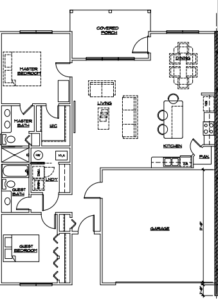 S Market St Apartments Floor Paln